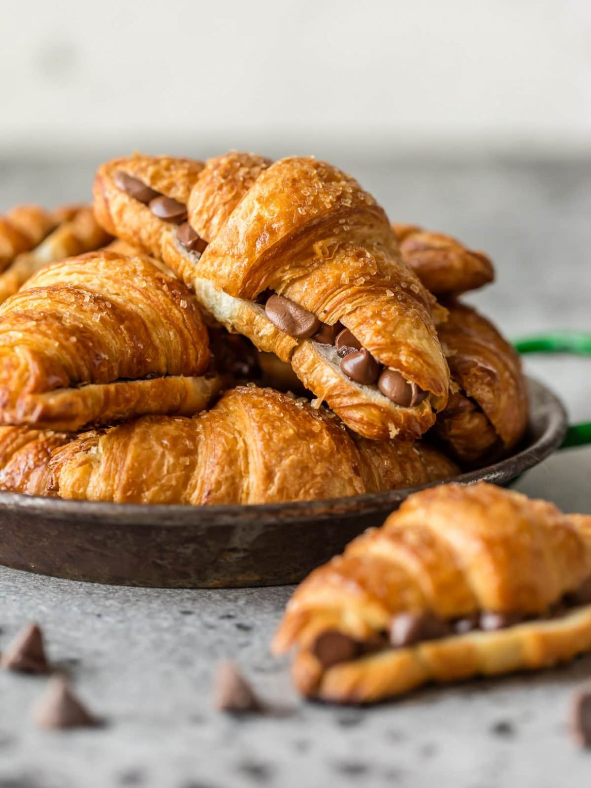 Chocolate Croissant Recipe - Easy Chocolate Croissants for a Crowd