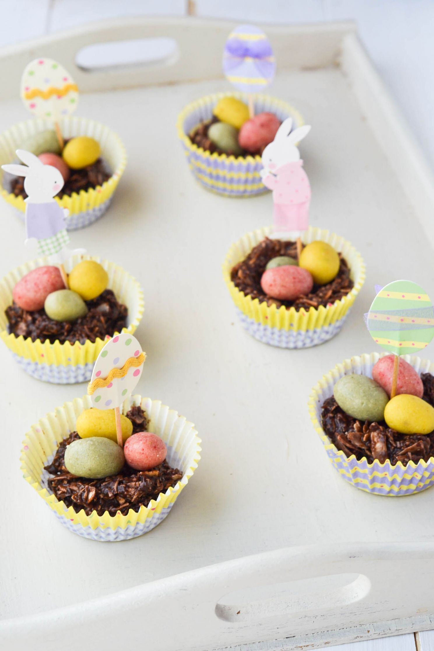 Chocolate Easter Egg Nests Raw - Wallflower Kitchen - Recipe Chocolate Easter Nests