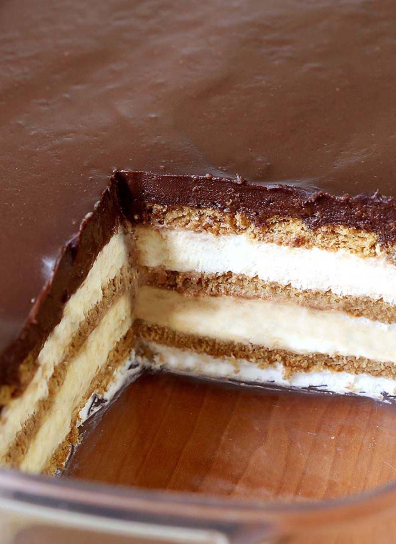 Chocolate Eclair Cake - Recipe Chocolate Eclair Cake