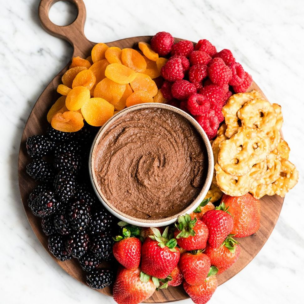 Chocolate Hummus - JoyFoodSunshine