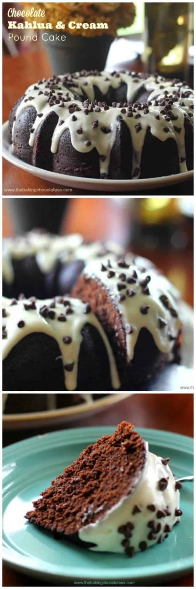 Chocolate Kahlua & Cream Bundt Cake - Recipe Chocolate Kahlua Bundt Cake