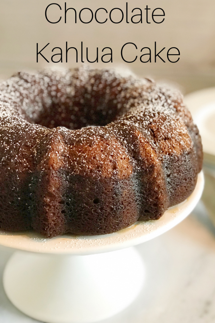 Chocolate Kahlua Cake: This boozy cake recipe is a delicious twist ..
