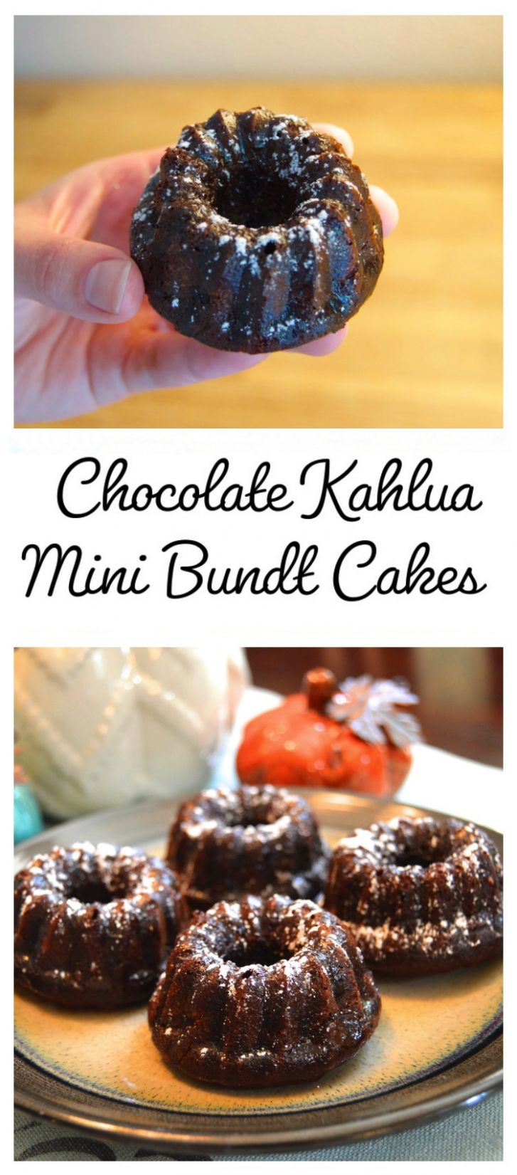Chocolate Kahlua Mini Bundt Cake Recipe | In a Nutshell..