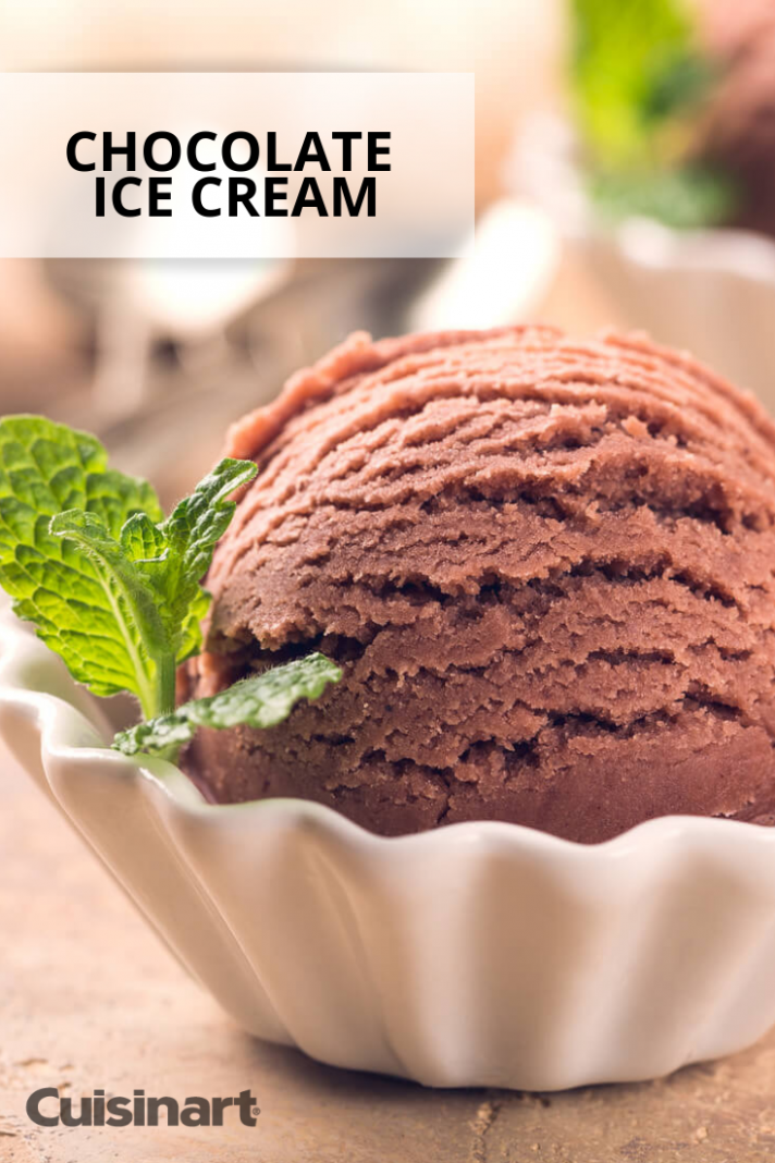 Chocolate lovers, this ice cream recipe is for you! Make it ...