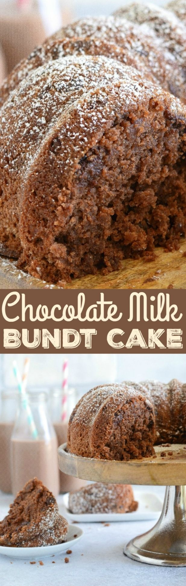 Chocolate Milk Bundt Cake Recipe