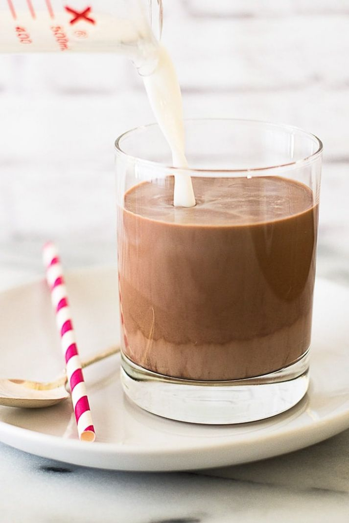 Chocolate Milk for One - Recipes Using Chocolate Milk