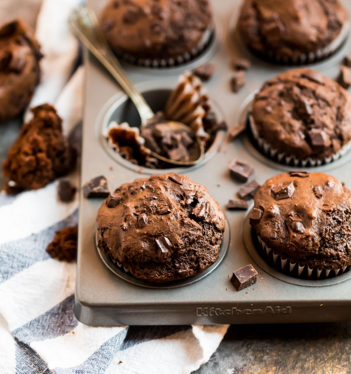 Chocolate Muffins - Recipes Chocolate Muffins