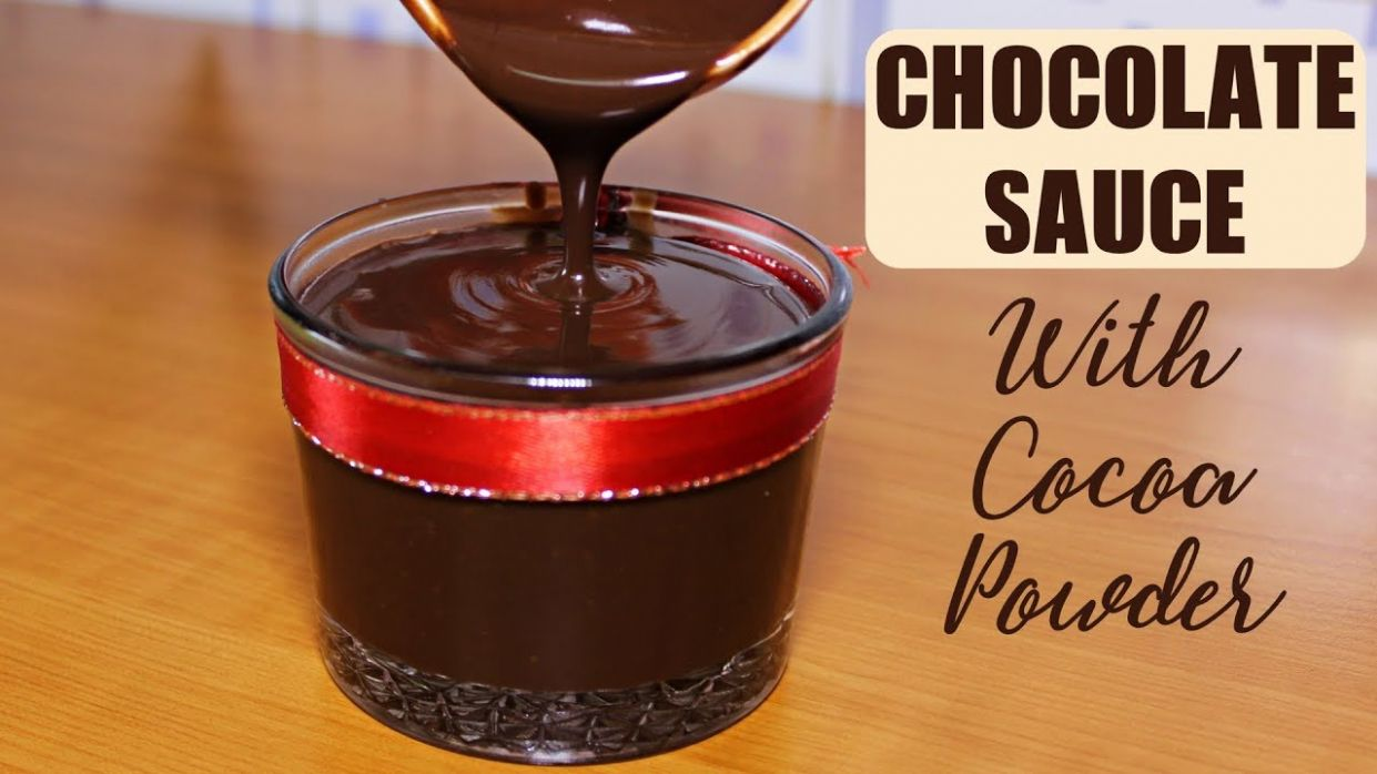 Chocolate Sauce Recipe with Cocoa Powder | Quick And Easy Homemade  Chocolate Sauce | Kanak's Kitchen