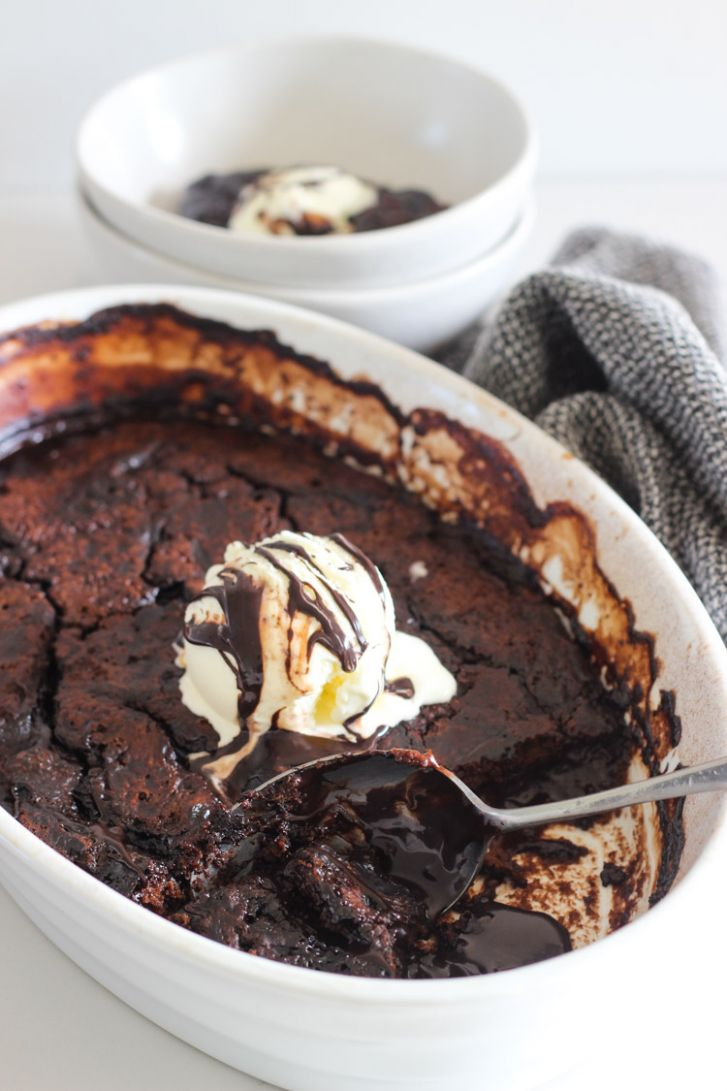 Chocolate Self Saucing Pudding - Recipe Chocolate Self Saucing Pudding