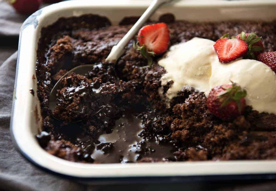 Chocolate Self Saucing Pudding | RecipeTin Eats - Recipe Chocolate Self Saucing Pudding