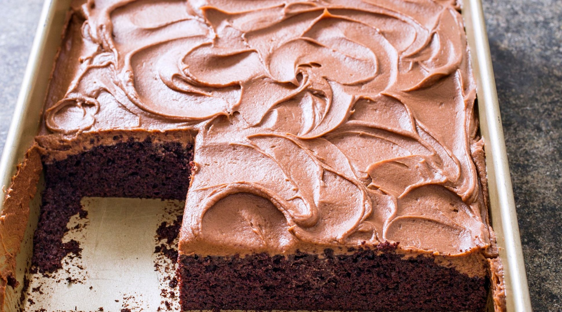 Chocolate Sheet Cake with Milk Chocolate Frosting - Recipes Chocolate Sheet Cake