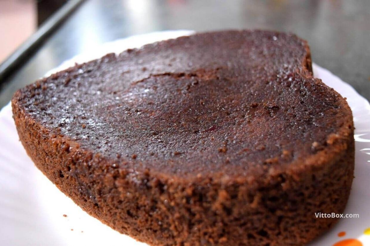 Chocolate Sponge Cake Without Eggs