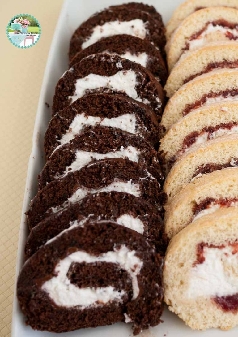 Chocolate Swiss Roll Cake Recipe - Recipe Chocolate Roll