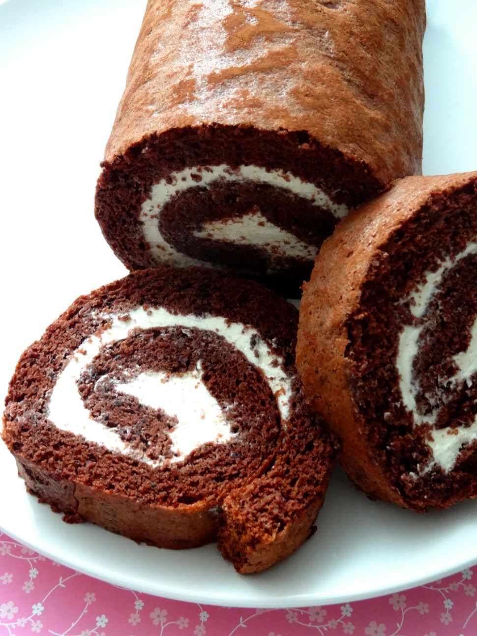 Chocolate Swiss Roll Recipe | Life is short, Eat sweet - Recipe Chocolate Roll