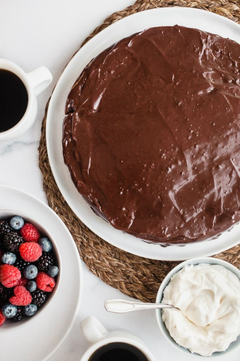 Chocolate Truffle Cake - Recipe Chocolate Truffle Cake