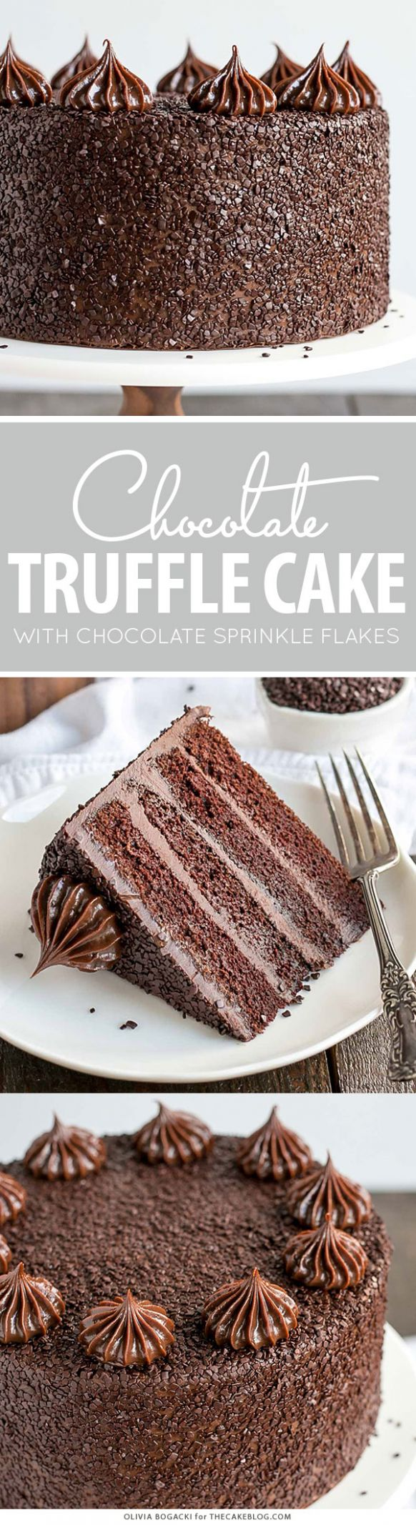 Chocolate Truffle Cake | The Cake Blog - Recipe Chocolate Truffle Cake