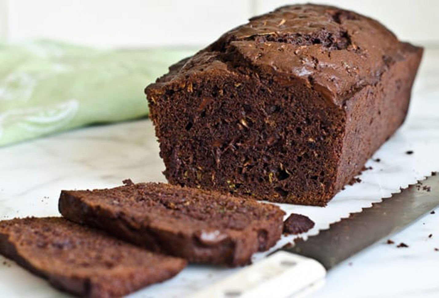 Chocolate Zucchini Bread - Recipe Chocolate Zucchini Loaf