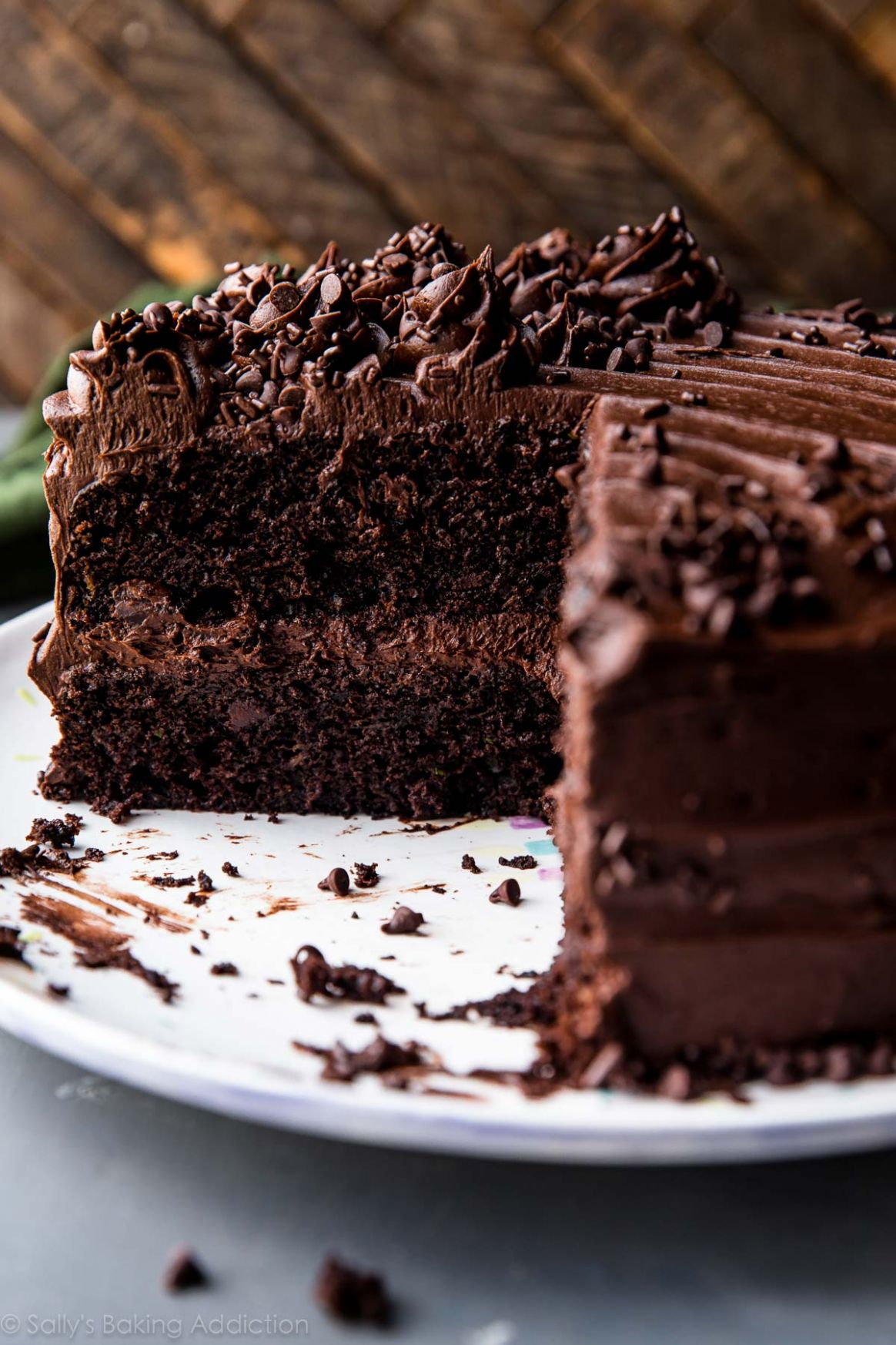 Chocolate Zucchini Cake | Sally's Baking Addiction