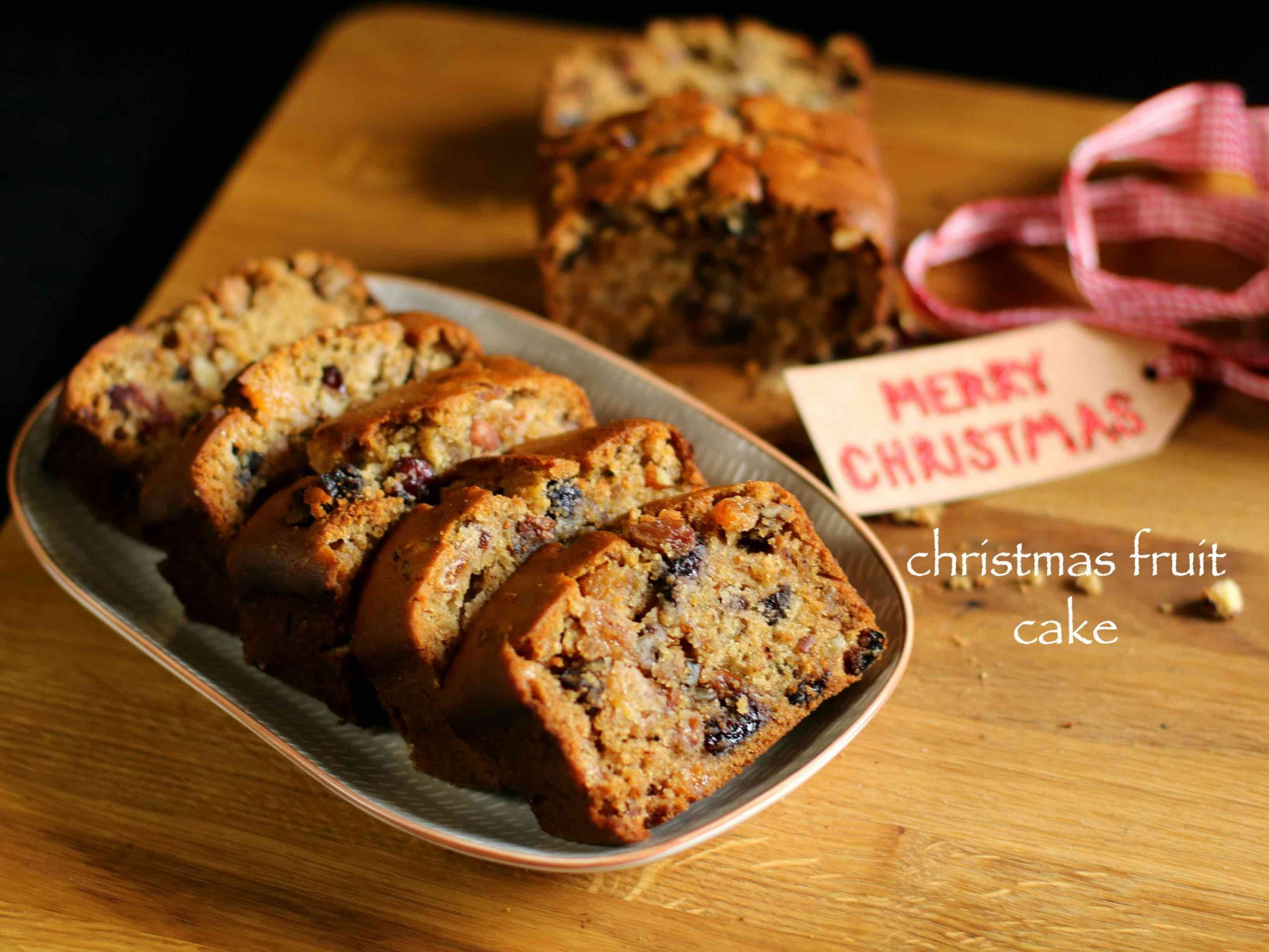christmas cake recipe | fruit cake recipe | plum cake recipe - Recipes Using Xmas Cake