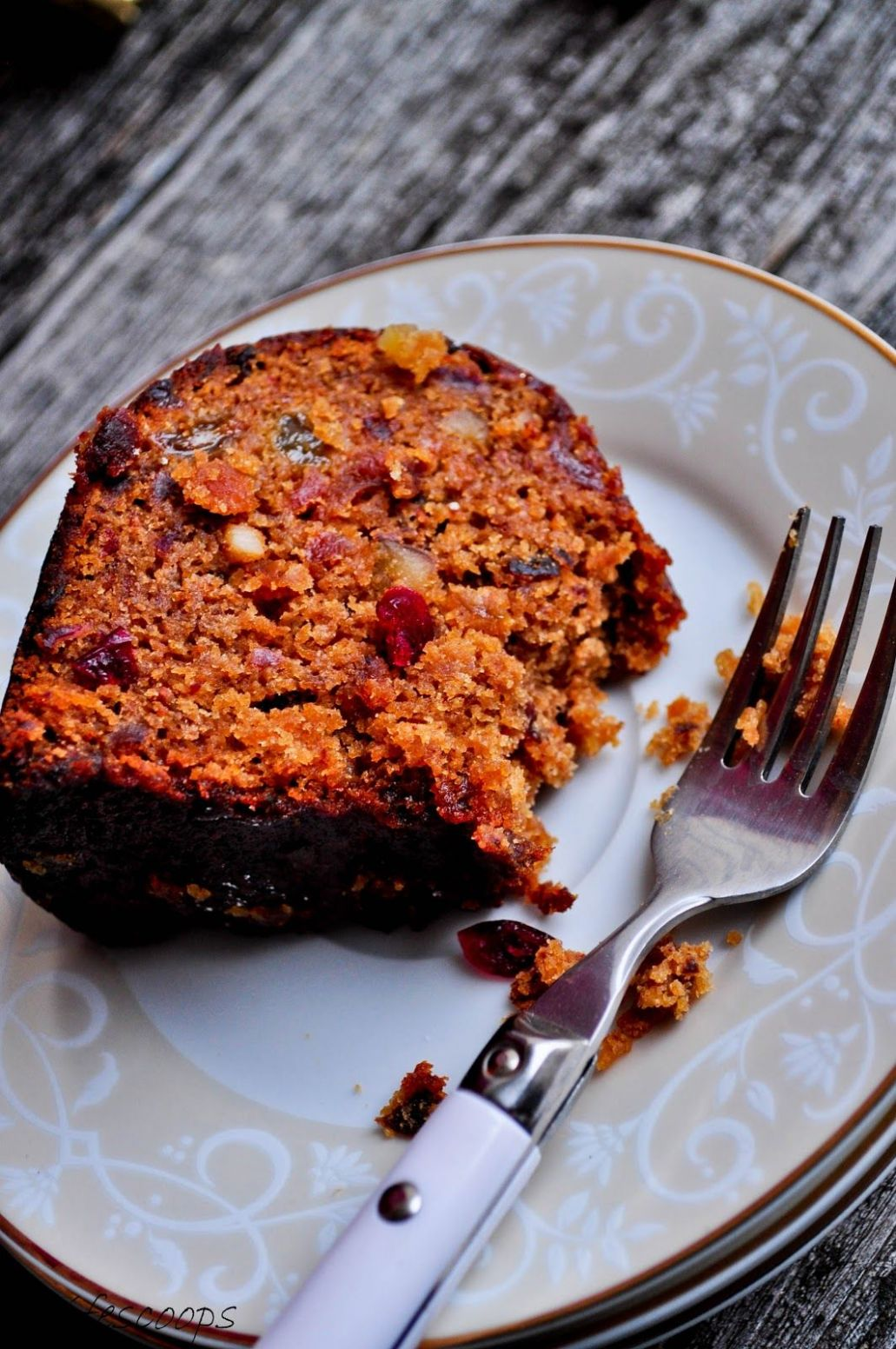 Christmas Fruit Cake / Kerala Plum Cake | Fruit cake christmas ...