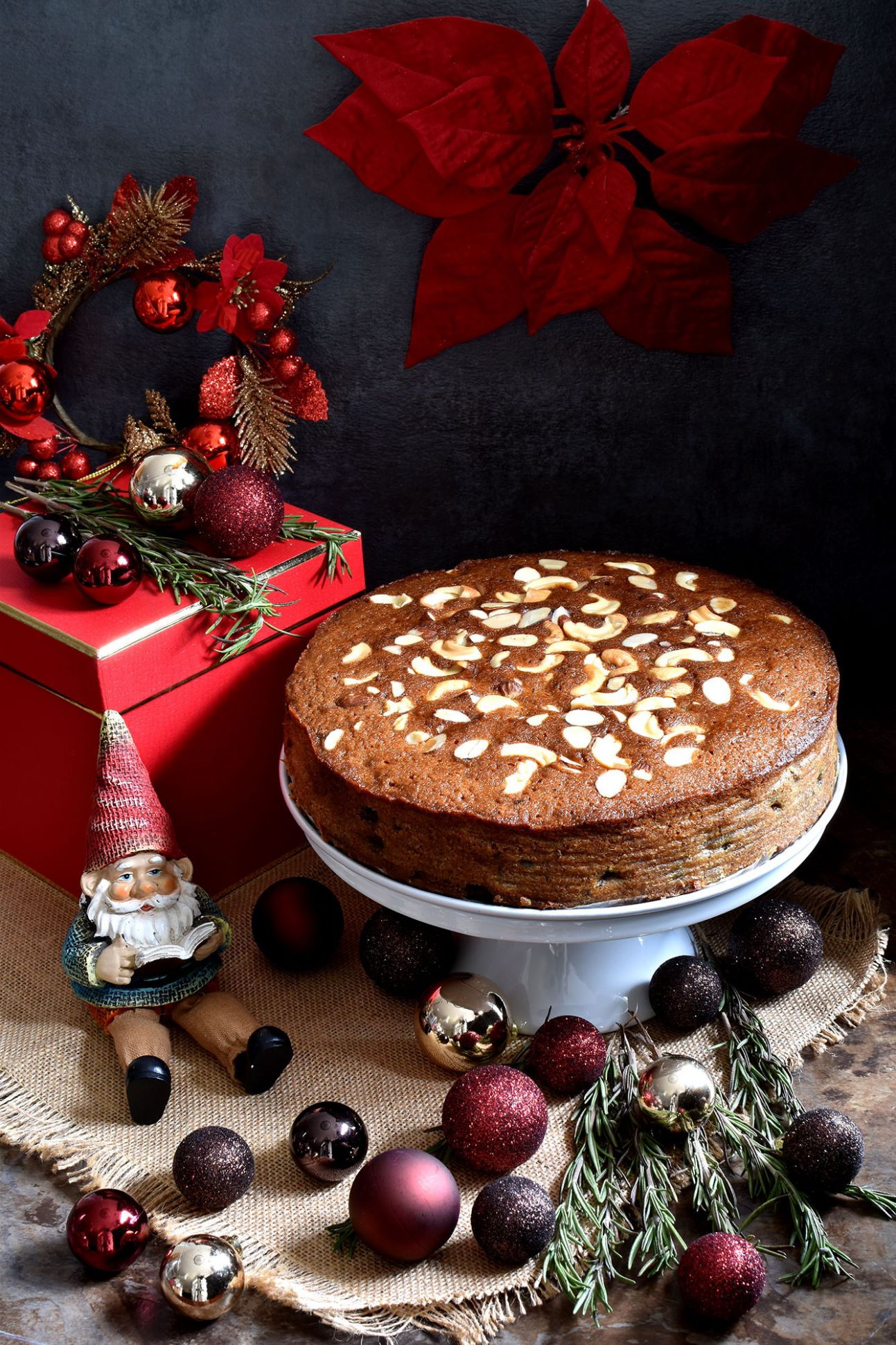 Christmas Fruit Cake (Non Alcoholic) - Recipes Using Xmas Cake