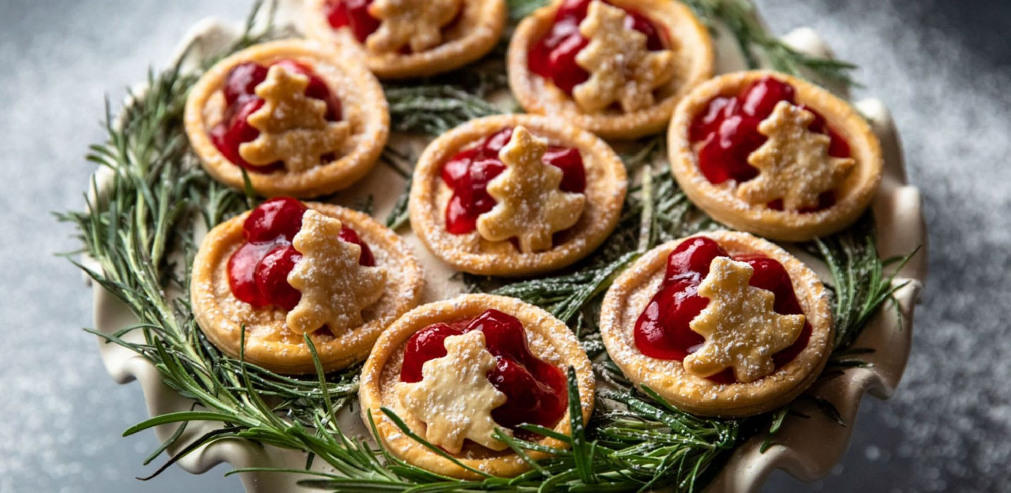 Christmas Tree Tarts
