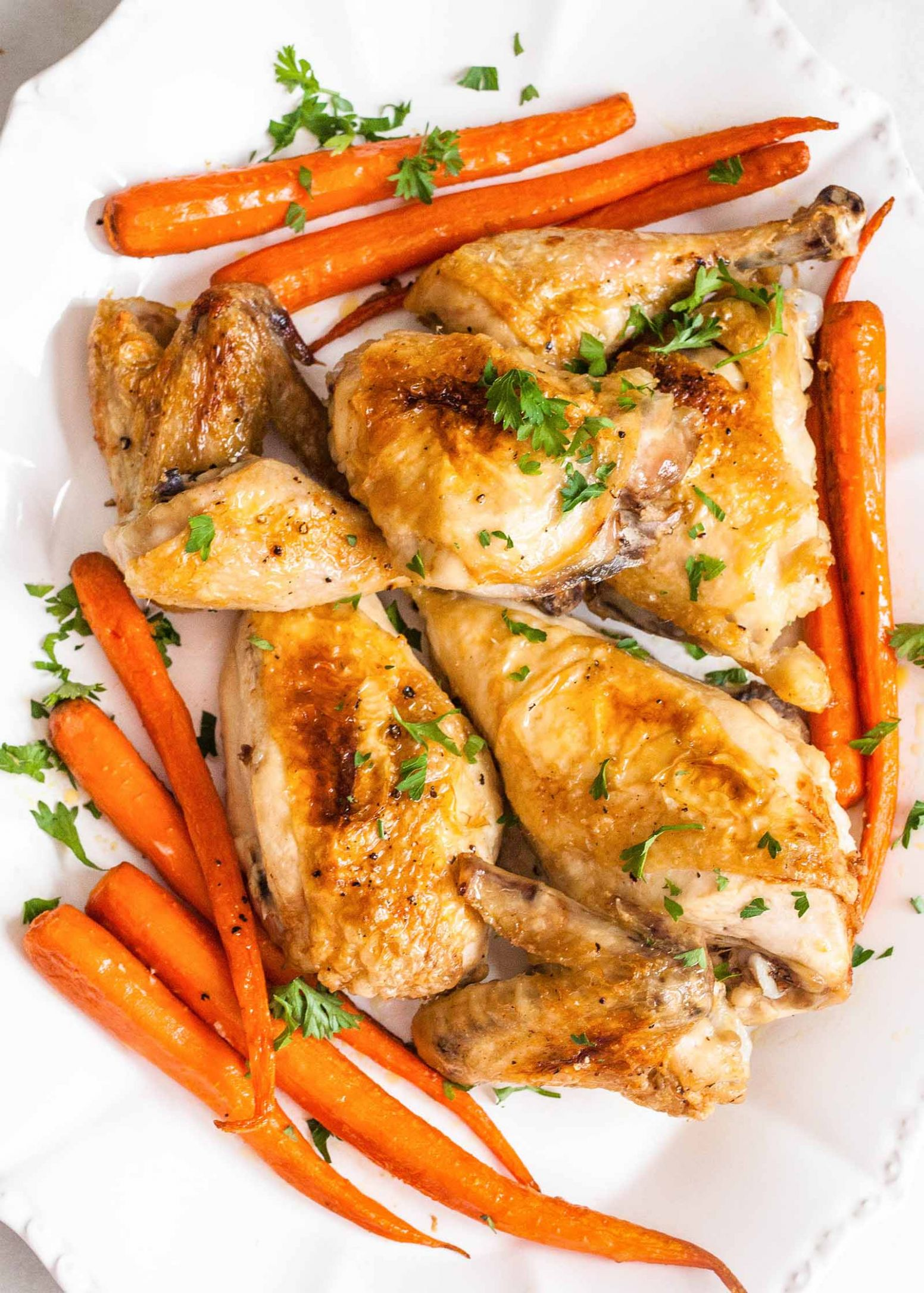 Classic Baked Chicken - Simple Recipes With Chicken