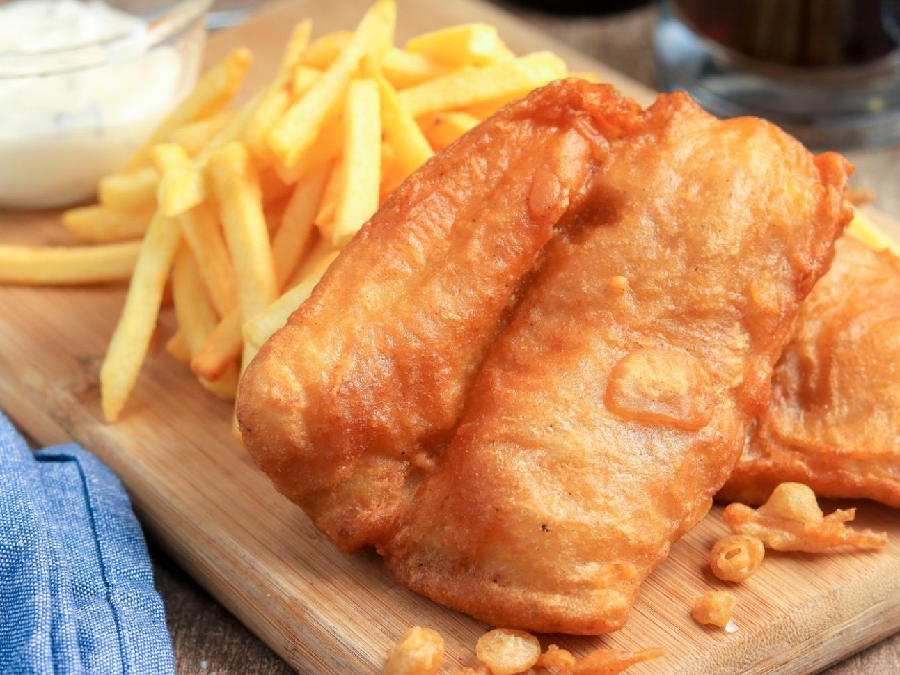 Classic British Fish and Chips - Recipe Fish Batter Without Beer