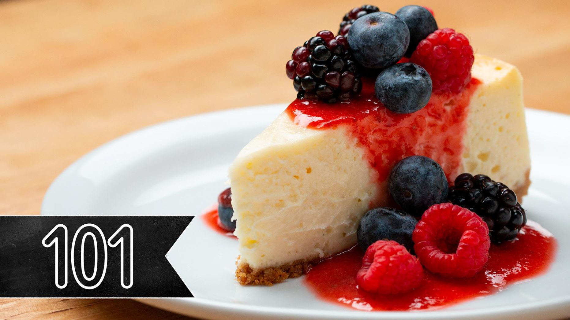 Classic Creamy Cheesecake Recipe by Tasty - Dessert Recipes Tasty