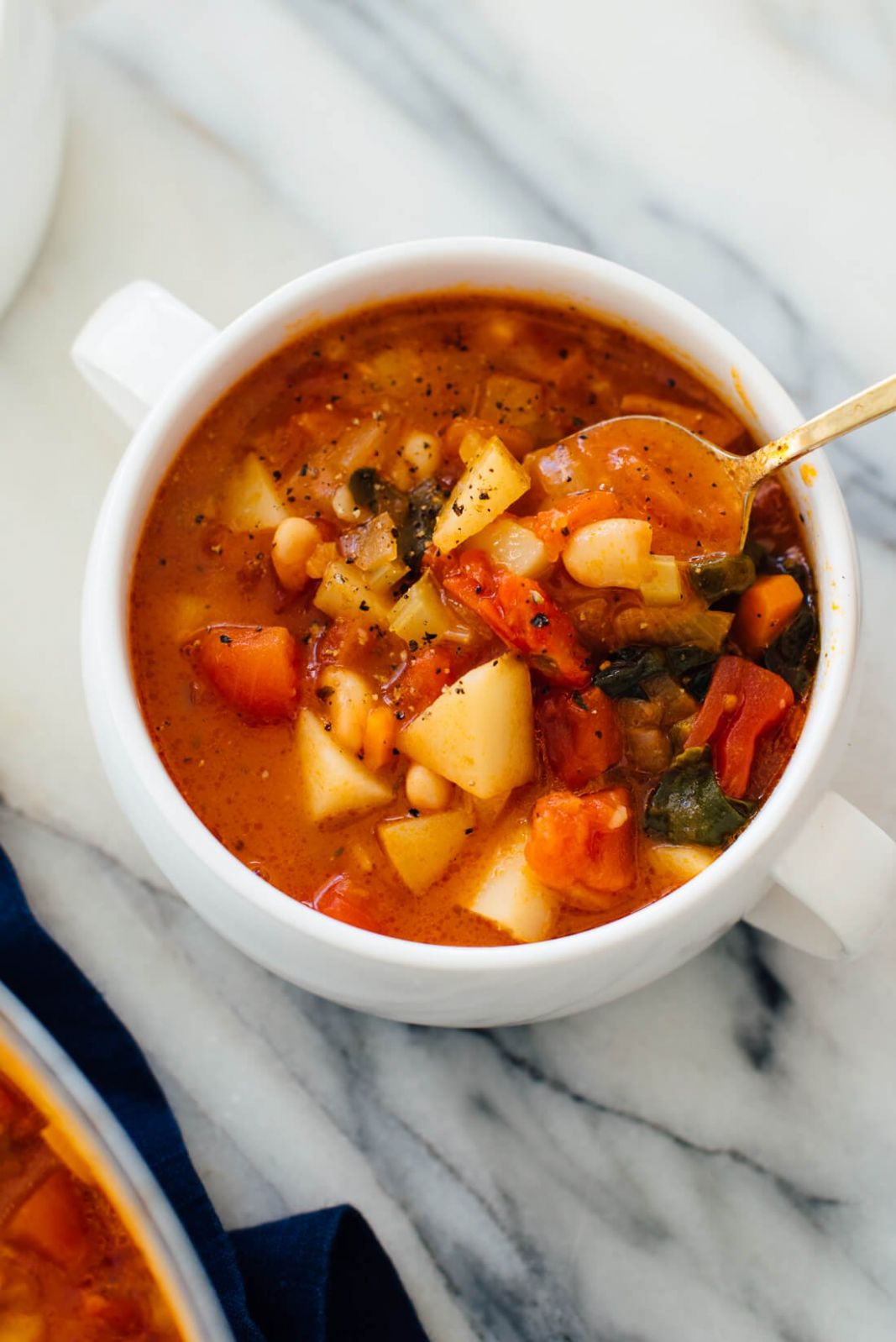 Classic Minestrone Soup Recipe - Cookie and Kate