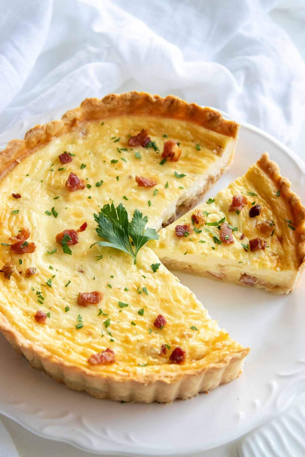 Classic Quiche Lorraine Recipe - Food Recipes Quiche