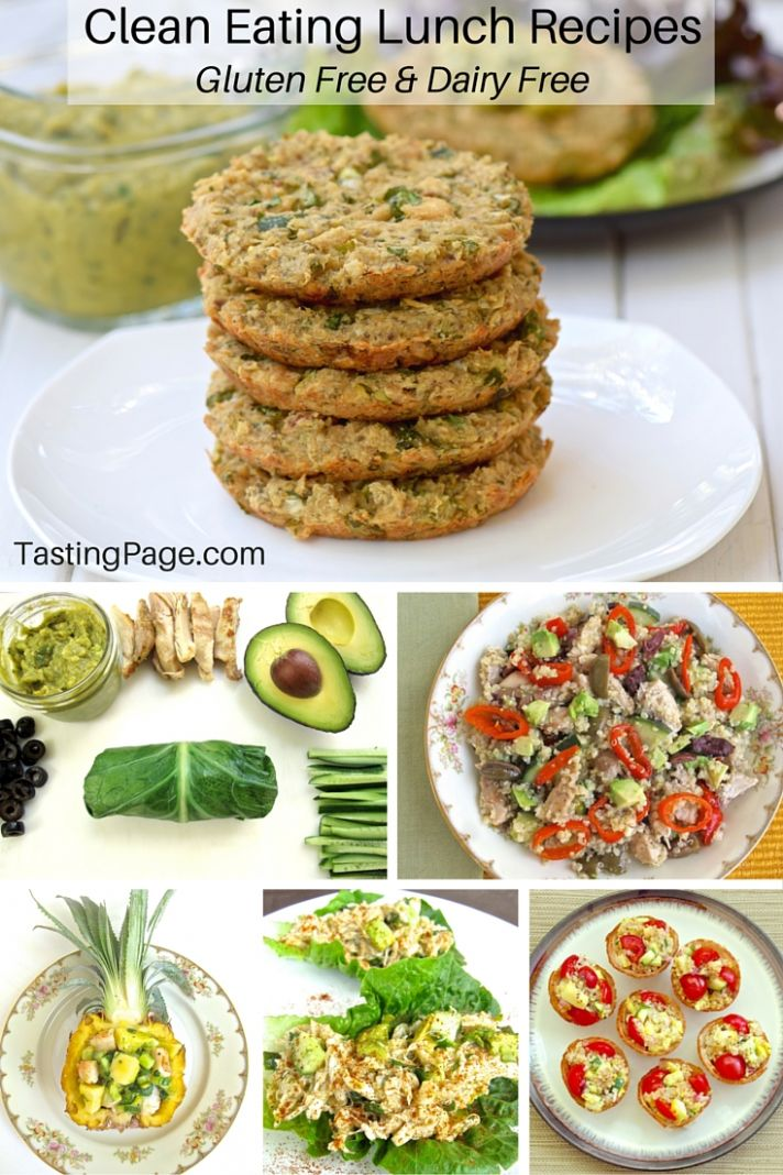 Clean Eating Lunch Recipes - Gluten Free & Dairy Free — Tasting Page