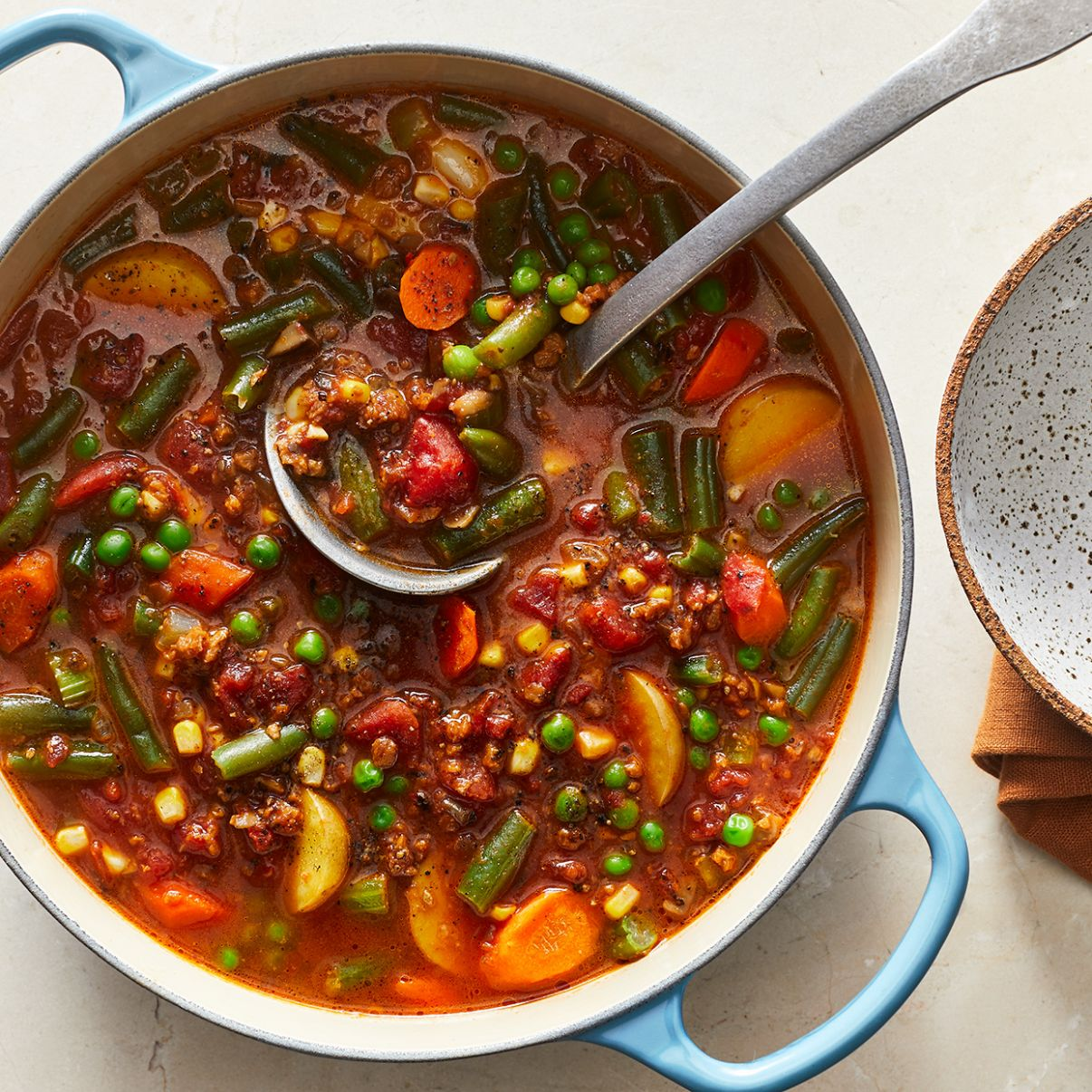 Clean-Out-the-Fridge Vegetable Stew - Recipes Vegetable Stew