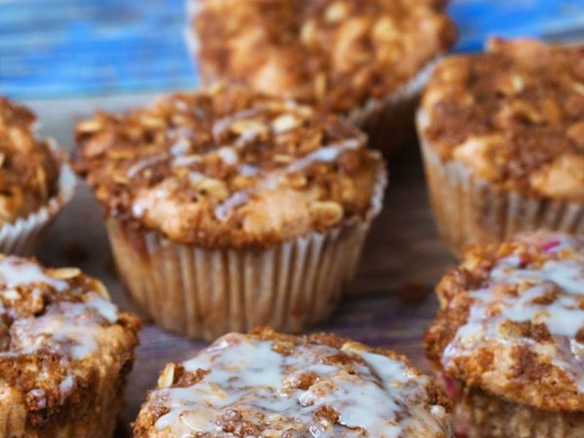 Coffee Cake Muffins - Dessert Recipes Using Xylitol