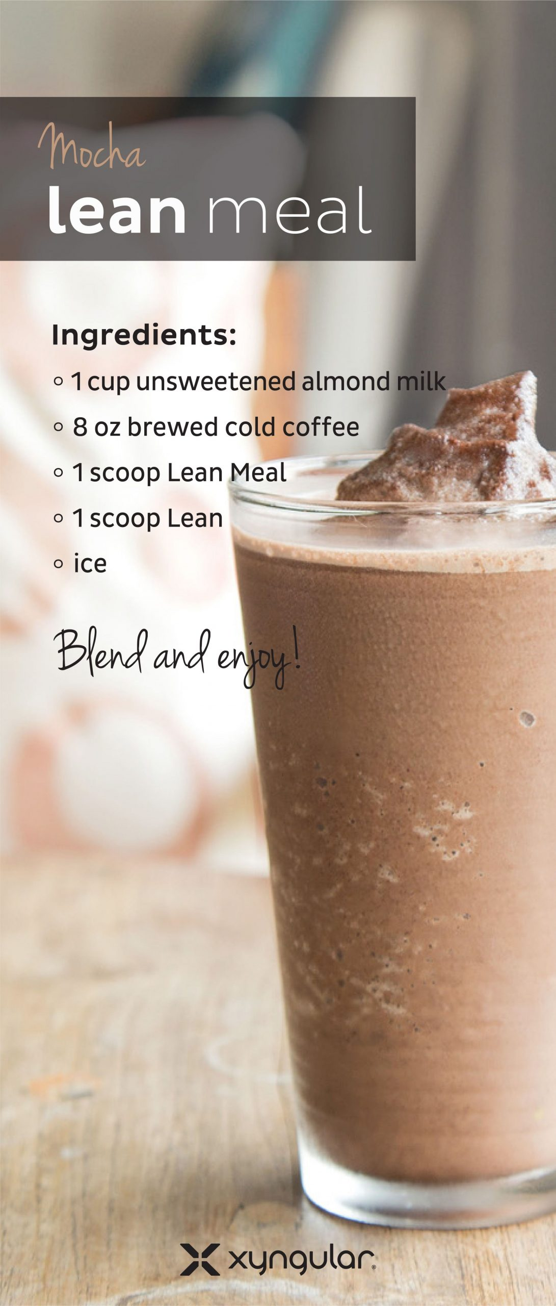 Coffee, Lean, AND Lean Meal?? Yeah. We know