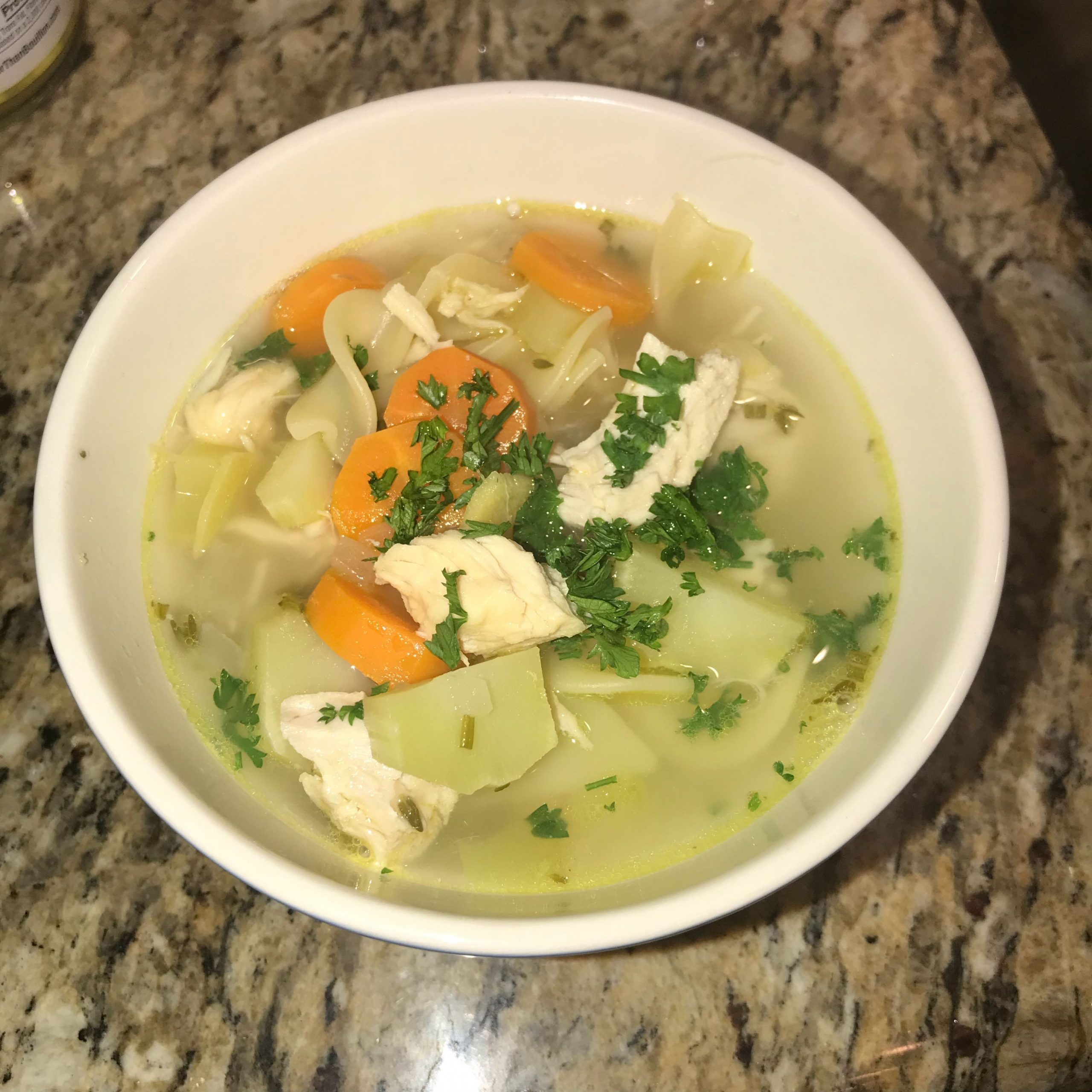 Cold-Busting Ginger Chicken Noodle Soup - Soup Recipes For Colds