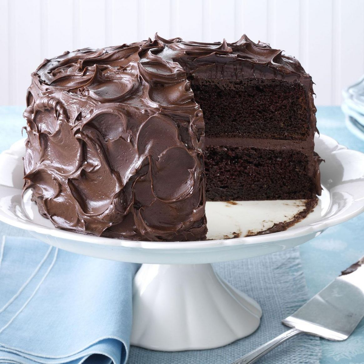 Come-Home-to-Mama Chocolate Cake - Recipes Chocolate Cake Mix