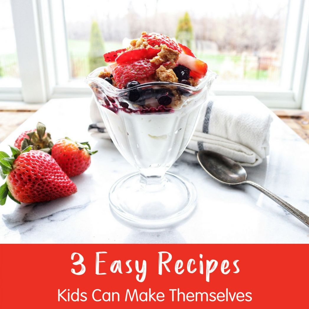 Contoh Soal Dan Materi Pelajaran 11: Easy Recipes For Kids To Make - Easy Recipes For Kids To Make By Themselves