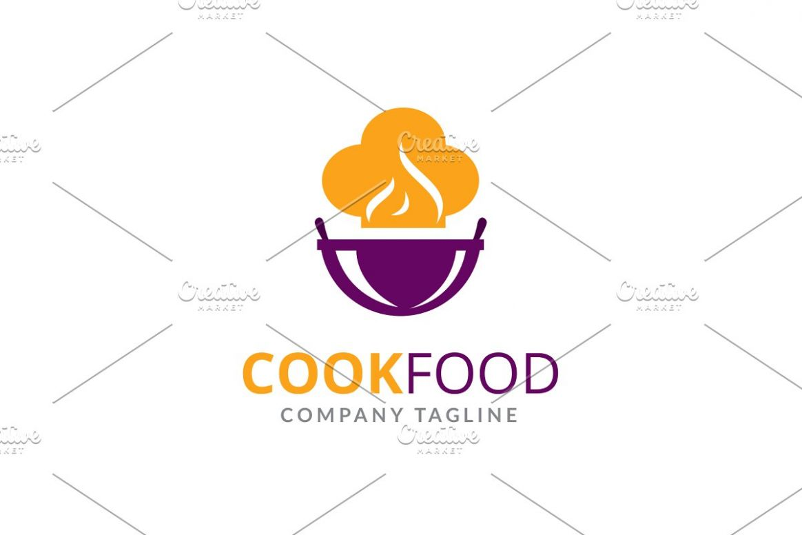Cook Food Logo - Food Recipes Logo