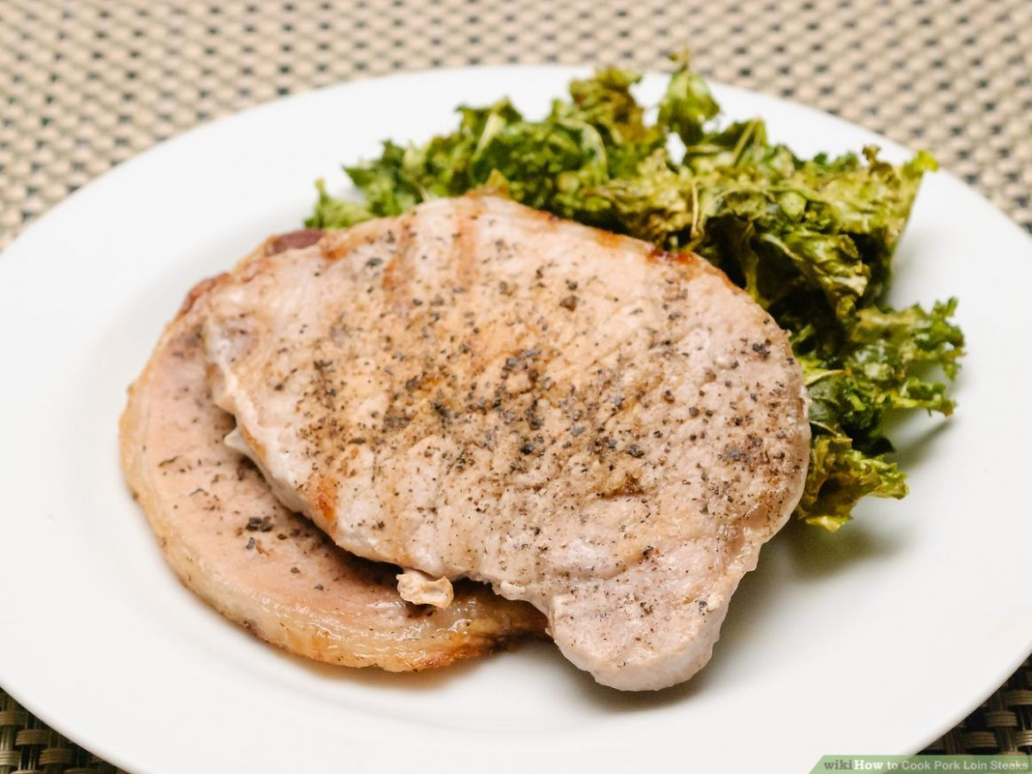 Cook Pork Loin Steaks