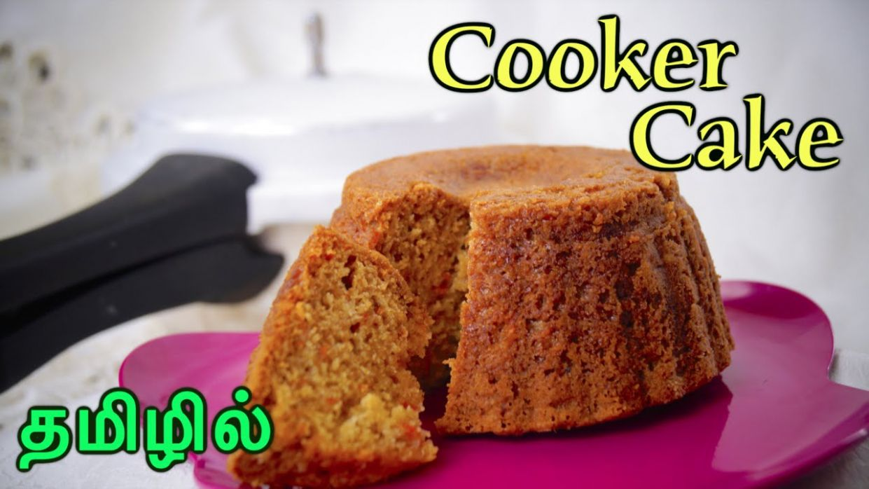 Cooker Cake - in Tamil | No Oven | Eggless | Super Soft !!! - Cake Recipes Tamil