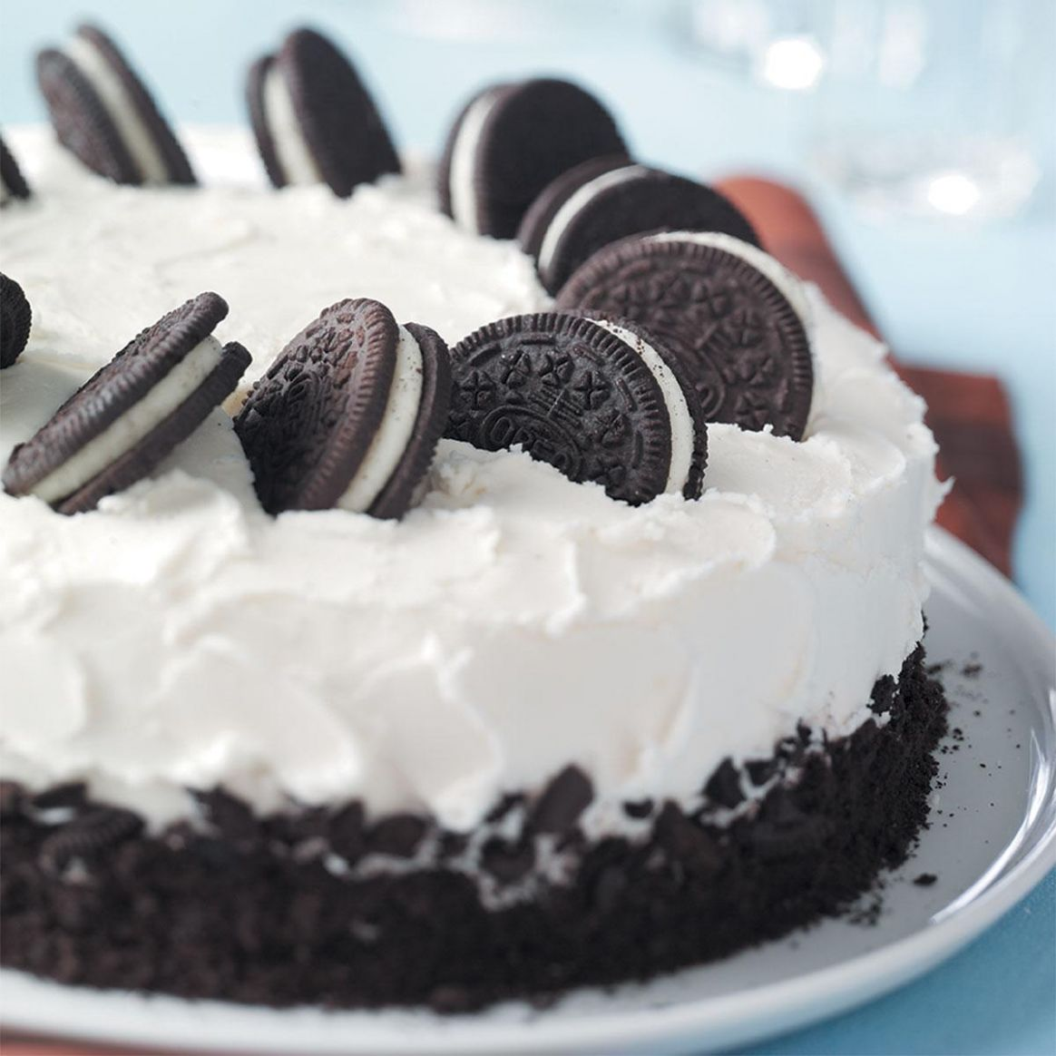 Cookies-and-Cream Cake - Cake Recipes Easy At Home