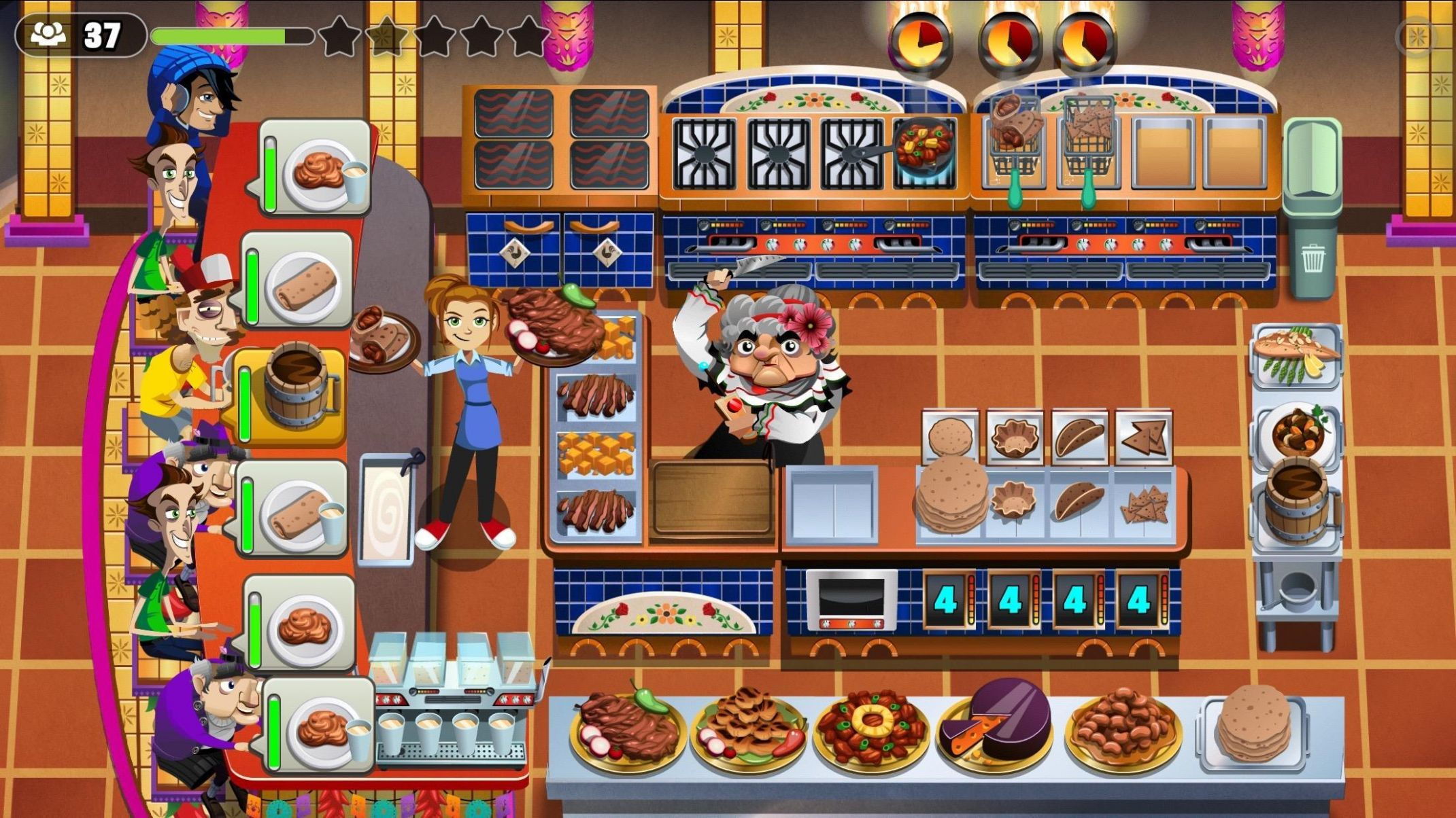 COOKING DASH for Android - APK Download - Recipes Cooking Dash