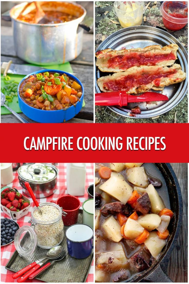 Cooking Over A Campfire: 9 Recipe Ideas | Campfire cooking recipes ...