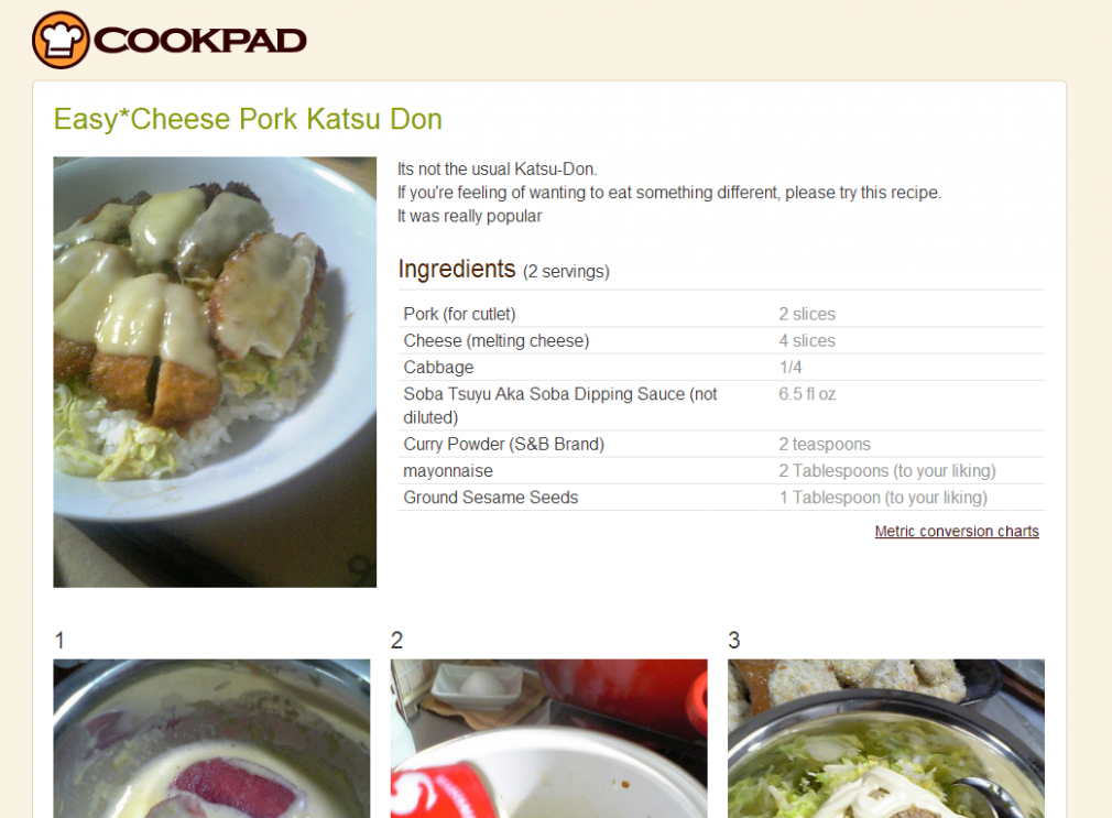 Cookpad's English Site Serves Up Japanese Food Recipes