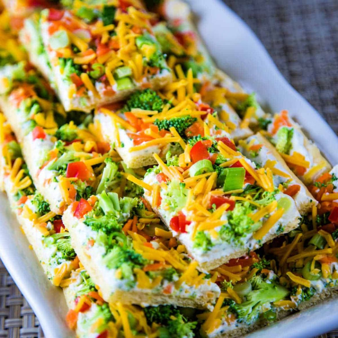 Cool Veggie Pizza - Popular Party Appetizer Recipe | Life, Love ...