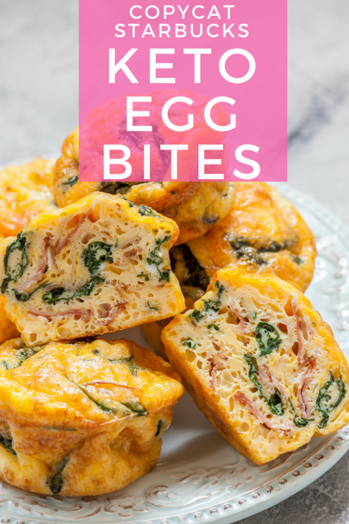 Copycat Oven-Baked Starbucks Keto Egg Bites - Let's Do Keto Together!