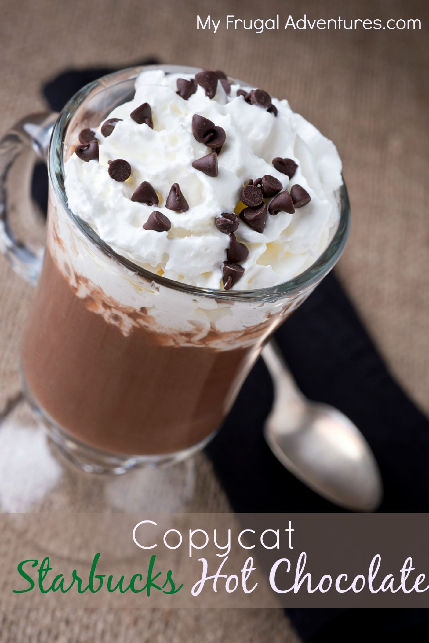 Copycat Starbucks Hot Chocolate Recipe (Quick & Easy!)