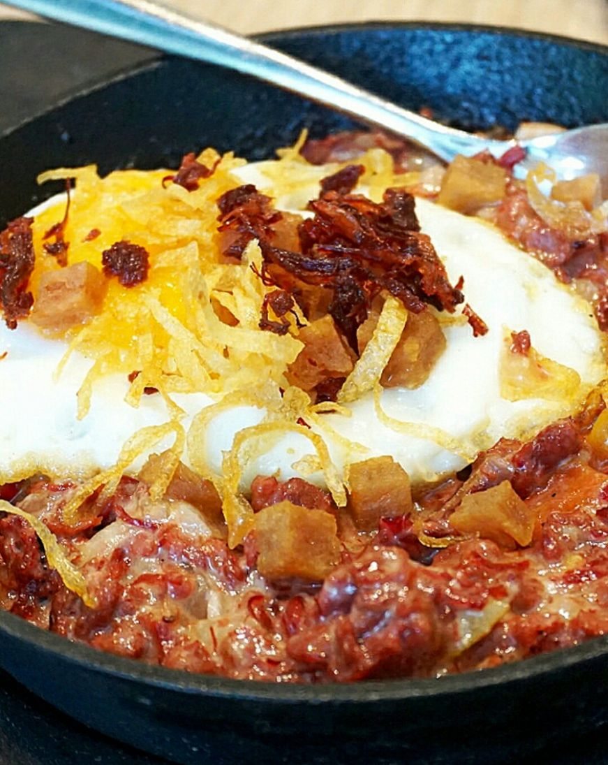 Corned Beef Sisig - Bully Beef Recipes Za
