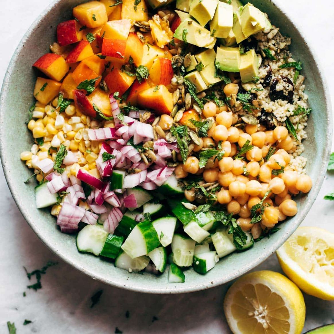 Couscous Summer Salad - Recipes Easy Summer Salads
